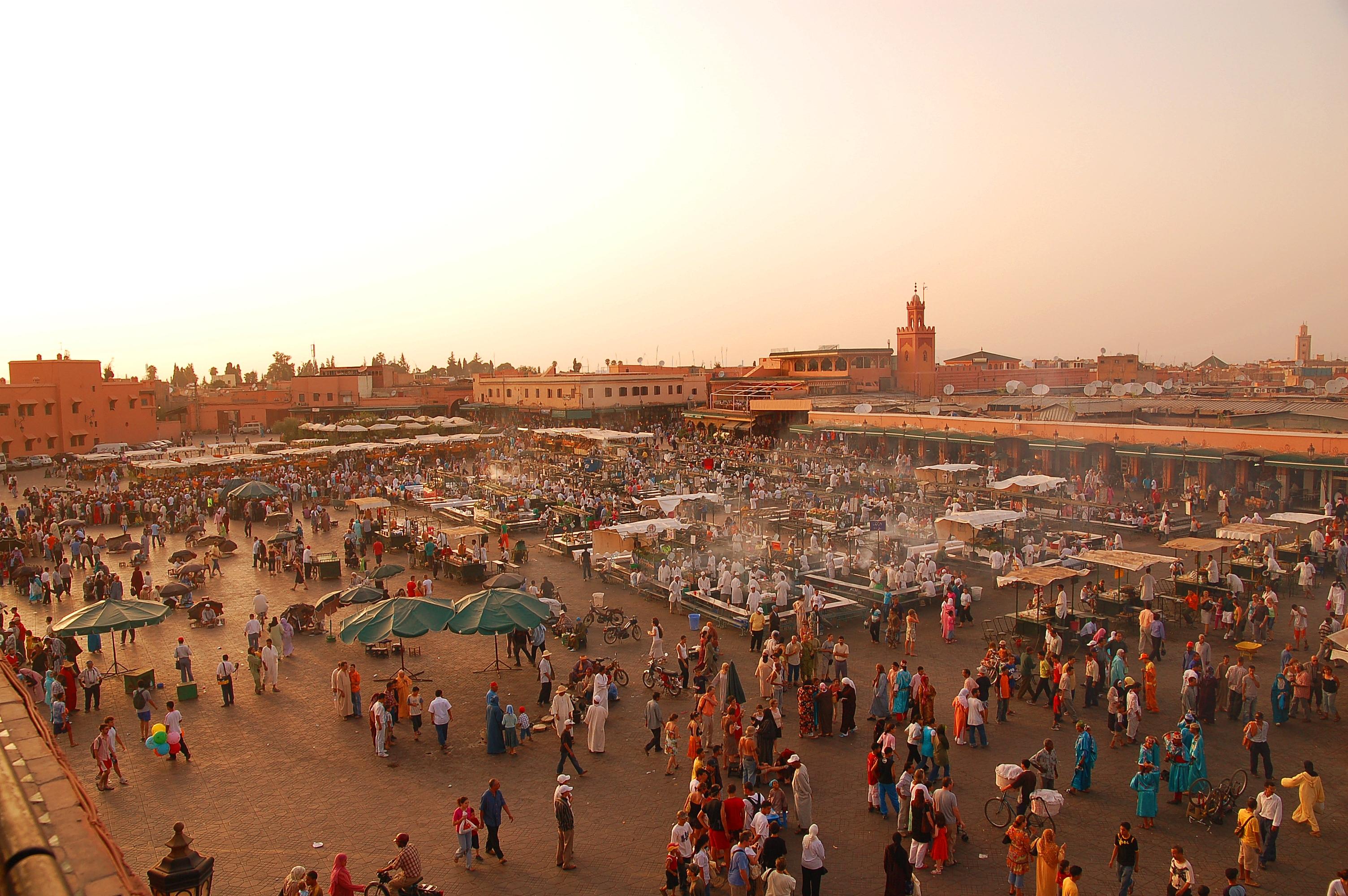 Marrakesh , Casablanca , Beni Mellal , Rabat , Fez , Meknes