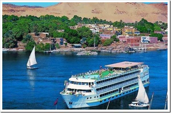 El Cairo , Luxor , Edfu , Kom Ombo , Aswan
