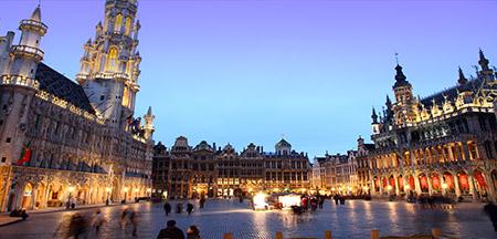 Bruxelas, Gante , Brugge