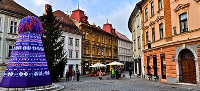 Bled , Liubliana , Postojna