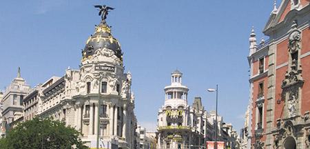 Granada , Madrid , Málaga , Mérida , Sevilla