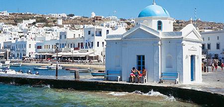 Santorini , Mykonos , Atenas