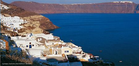 Santorini , Atenas , Paros , Naxos