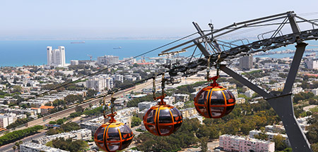 Acre , Haifa , Jerusalém, Nazareth , Safed , Tel Aviv , Cana , Mt Tabor , Ein Kerem , Galilea , Belém