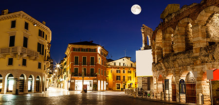 Roma, Assis , Siena , Florença, Pisa , Padua , Veneza, Milão