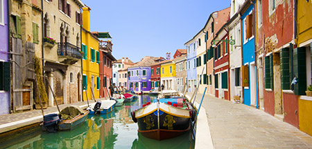 Veneza, Bologne , Modena , La Spezia , Cinqueterre , Pisa , Florença, San Gimignano , Siena , Roma