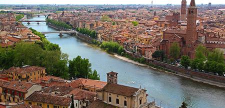 Milão , Orte , Stresa , Como , Bellagio , Varenna , Bergamo , Brescia , Sirmione , Riva Del Garda , Verona