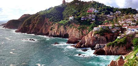 Acapulco , Cuernavaca , Taxco , Cidade Do México