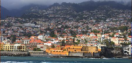 Funchal , Porto Moniz , Camara De Lobos , Cabo Girao , Santana , Camacha , Machico , Areeiro