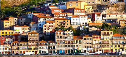 Cascais , Coimbra , Estoril , Fátima , Guimarães , Lisboa , Obidos , Sintra , Tomar , Vila Real , Porto