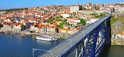 Aveiro , Braga , Coimbra , Fátima , Guimarães , Lisboa , Porto, Sintra