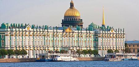 Moscou , Uglich , Kizhi , Yaroslavl , São Petersburgo