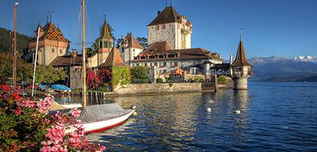 Berna, Genebra, Interlaken , Lucerne , Montreux , Zermatt , Zurique, Gruyeres