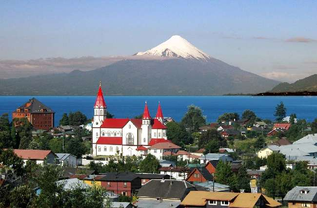 Puerto Montt , Puerto Varas , Santiago Do Chile