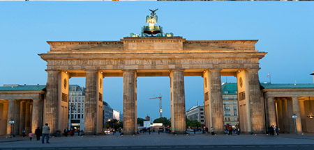 Hamburgo Aeroporto , Berlim , Colonia, Erfurt , Frankfurt , Potsdam , Rudesheim , St Goar
