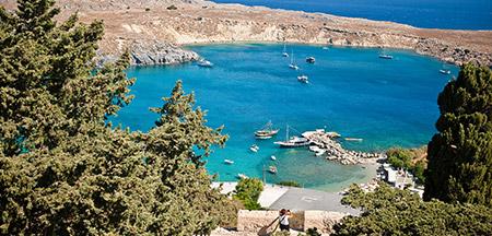 Atenas , Mykonos , Kusadasi , Patmos , Rodes, Heraklion , Santorini