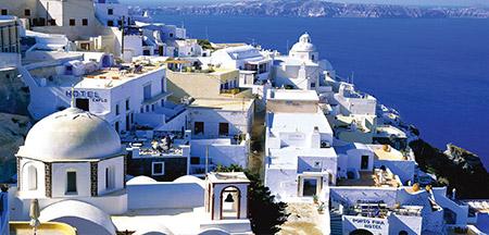 Atenas , Pireus , Rodes, Heraklion , Santorini , Mykonos , Kusadasi