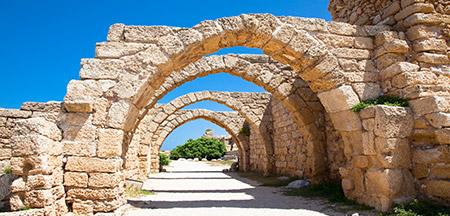 Acre , Caesarea , Haifa , Jerusalém, Nazareth , Safed , Tel Aviv , Galilea