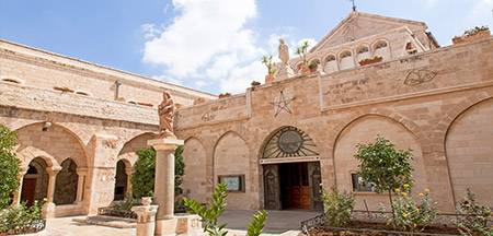 Tel Aviv , Massada , Jaffa , Caesarea , Haifa , Acre , Galilea , Nazareth , Safed , Mt Tabor , Jerusalém, Ein Kerem , Belém , Cidade Antiga