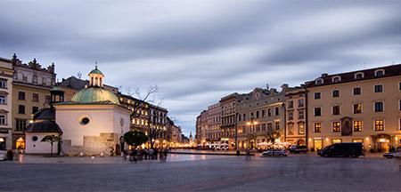 Praga , Cracóvia, Czestochowa , Varsóvia , Berlim
