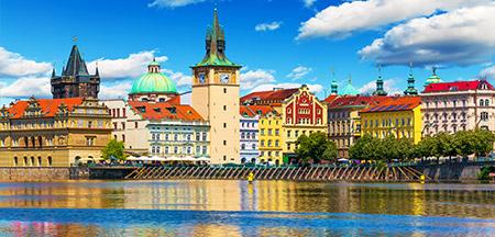 Praga , Viena , Budapeste