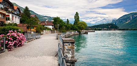 Interlaken , Thun , Schilthorn
