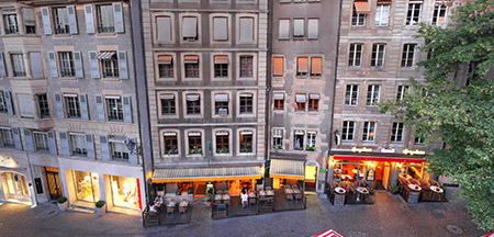 Genebra, Zurique