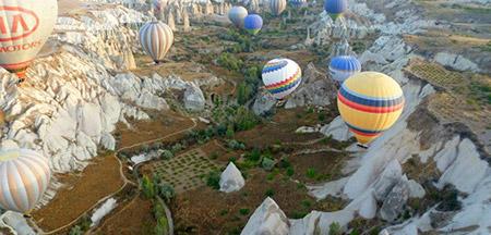 Istambul , Izmir , Efeso , Pamukkale , Capadócia , Ancara