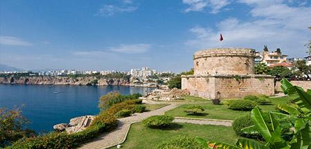 Antalya , Istambul , Konya , Kusadasi , Pamukkale , Capadócia